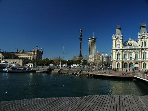 Barcelona Hafengegend