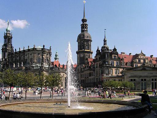 Dresden Hofkirche und Residenzschloß